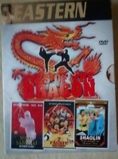 Eyes of dragon box set DVD German language only !!! Cynthia rothrock ORIGINAL