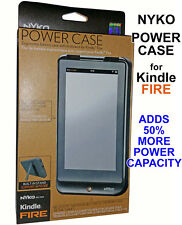 Nyko Power Case for Kindle Fire-Built in Rechargable Battery 80663-P37 Black