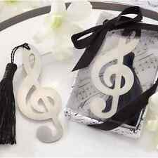 Music Note Alloy Bookmark Novelty Ducument Book Marker Label Stationery New