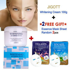 JIGOTT Whitening Cream 100ml KOREAN COLLAGEN FACIAL MASK Skin Care Free Gift