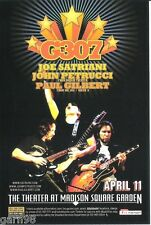 G3 Joe Satriani Petrucci Gilbert Dream Theater Original Concert Handbill NYC