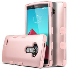 Shockproof Case Hybrid Cover Soft silicone + Hard PC Material Design for LG G4