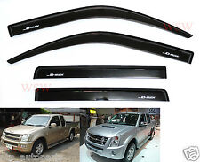 4 DOOR WIND SHIELD AIR GUARD ISUZU D-MAX DMAX 2002-2011 / HOLDEN RODEO 2002-2011
