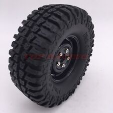 """1/10 RC Rock Crawler 1.9"""" Tires and Wheels (4) 100mm Fit Axial SCX10 RC4WD CC01"""