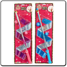 2 x Twirling dance Batons shimmering Ribbon great value Pair