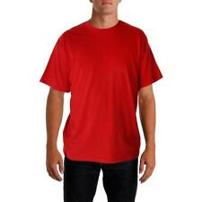 Nike 1010 Mens Red Cotton Signature Short Sleeves T-Shirt Top L BHFO