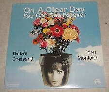 MOVIE LASERDISC 1970 ON A CLEAR DAY YOU CAN SEE FOREVER EXTENDED PLAY 2 DISC