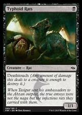 MTG 4x TYPHOID RATS - RATTI DEL TIFO - FRF - MAGIC