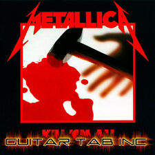 Metallica Guitar & Bass Tab KILL EM ALL Lessons on Disc