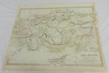 1830 Antique SDUK Color Map/ASIA MINOR/Hand-Colored