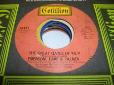 Rock NM! 45 EMERSON, LAKE AND PALMER The Great Gates Of Kiev on Cotillion