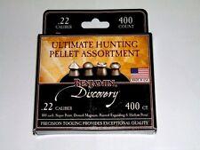 BENJAMIN DISCOVERY .22 CALIBER ULTIMATE HUNTING PELLET ASSORTMENT 400 Count USA