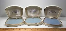 Vintage 1940s 3pc Treasureland by Marvel USA Empty Retail Display Jewelry Boxes
