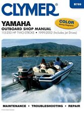 Clymer Yamaha Outboard Shop Manual 100-250 HP 2 Stroke 1999-2002