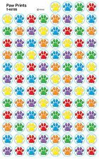 800 Paw Prints School Teacher Reward Stickers - Great for Reward Charts