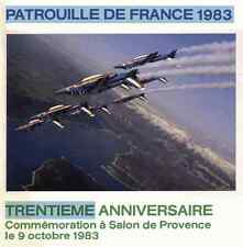 PATROUILLE DE FRANCE PAF 1983 AEROBATIC TEAM AIRCRAFT RED ARROWS FOUGA - DVD