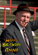 Minder -  Arthur Daily & Terry McCann PERSONALISED Birthday Greeting TV Art Card