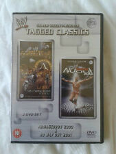 WWE Tagged Classics - Armageddon 2000 & No Way Out 2001 DVD WWF Rare & Deleted