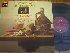 HQS 1368 Telemann Six Sonatas for Two Flutes / Galway / Debost