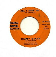 Jimmy Starr 45 All I Ever Do - Rare Rockabilly Bopper Orange Empire - HEAR