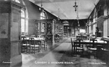 Library Reading Room Union Jack Club London unused old pc