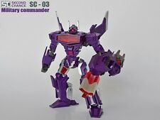 Transformers Second Chance SC-03 Military Commander,In stock!