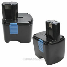 2 x 18V 3000mAh 3.0AH Ni-Mh Battery for Hitachi EB1812S EB1820 EB1830 Power Tool
