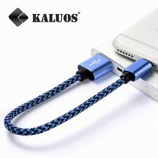 Short USB Cable for iPhone 6 Plus 6S 7 5S iPad Data Charger Original Kaluos Lead