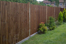Feather Edge fence panel, Brown 6x6, 6x5, 6x4, 6x3