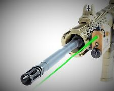 LaserLyte CM-K15T Kryptonyte Center Mass Dual Lens Rifle Green Laser Sight Tan