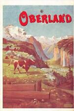 CPA SUISSE ILLUSTRATEUR OBERLAND