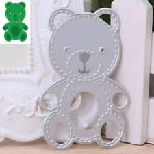 Bear Cutting Dies Stencil Scrapbook Paper Card Embossing Decorative Decor Craft