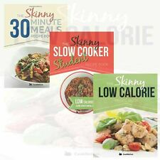 The Skinny 30 Minute Meals Recipe Books Collection 3 Books Set By CookNation