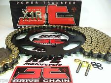DUCATI '08/14 M696 MONSTER  JT Gold X-Ring CHAIN AND SPROCKETS KIT *Premium Kit