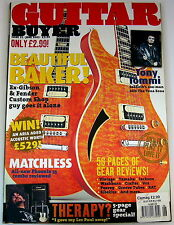 GUITAR BUYER Magazine June 2003 Matchless Tony Iommi VOX Yamaha RAT Therapy
