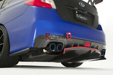 FRP CHARGESPEED STYLE REAR BUMPER EXTENSION ADDON FOR IMPREZA 11 VAB VAF STI