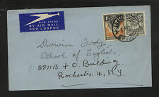 Northern  Rhodesia  cover to   US          KL0206