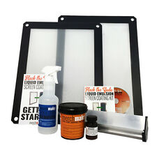 Hack the Yudu Screen Liquid Emulsion Kit Deluxe (with 2 screens!)