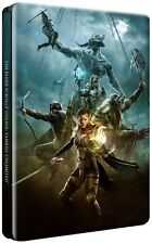 The Elder Scrolls Online Tamriel Unlimited Steelbook Funda Ps4 & Xbox One * Nuevo *
