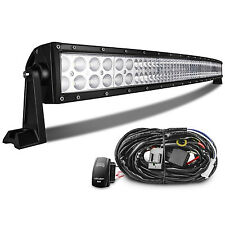 "50"" Inch 288W Led Light Bar Work Lights Flood Spot Combo Beam Waterproof"