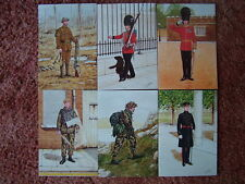 6 Card Set No 31 Military Postcards THE WELSH GUARDS. Mint condition.