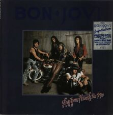 """Bon Jovi Lay Your Hands On Me  Uk limited Gatefold 12"""" w uk discography"""