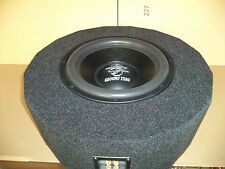 "Reserveradgehäuse, inkl. Ground Zero 15"" Subwoofer, 1800 Watt"