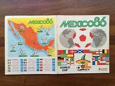 "Album Mexico 86 WM Figurine Panini World Cup ""Completo"""