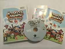 NINTENDO Wii GAME HARVEST MOON MAGICAL MELODY +BOX INSTRUCTIONS COMPLETE PAL GWO