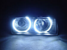 DEPO 92-99 BMW E36 2DR/3DR/4DR UHP LED ANGEL EYES EURO ZKW PROJECTOR HEADLIGHTS