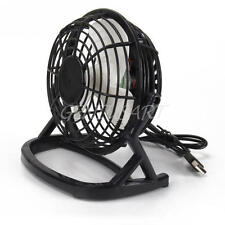 VENTILADOR USB METALICO FAN MINI PLUG & PLAY DC 5V SUPER SILENCIOSO AJUSTABLE