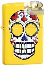 Zippo 24894 skull day of the dead Lighter with PIPE INSERT PL