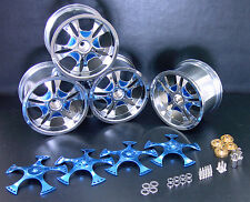 4 Wheel Spinner Fit T-Maxx Revo MGT HPI Savage 21 25 BB