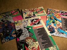 Comic Books 4 VTG  Who's Who Definitive Directory of DC Universe Super Heroes